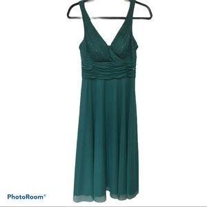 🦚 Jade Green Dress by JS Boutique
